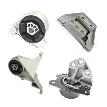 Engine & Trans. Motor Mount For Chevrolet Equinox 3.4L Set 4PCS 3069 3082 5324 5325  M975 ()