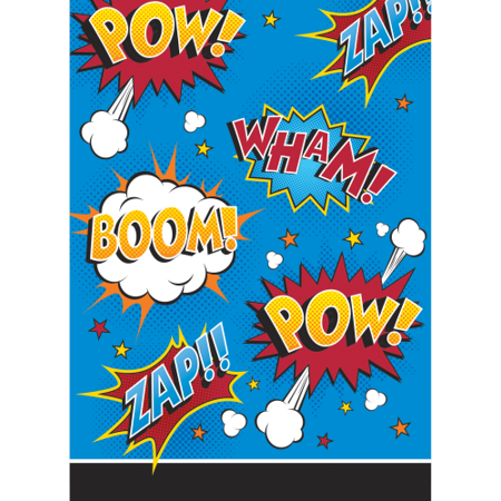 Superhero Slogans Treat Bags (8 - Superhero Party Ideas
