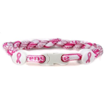Breast Cancer Awareness Bracelet Double Pink Braided Cord Courage Hop... (Cancer Bracelets)
