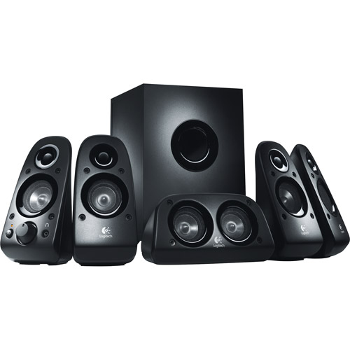 Logitech Z506 5.1 Channel Surround Sound Speaker System by Logitech