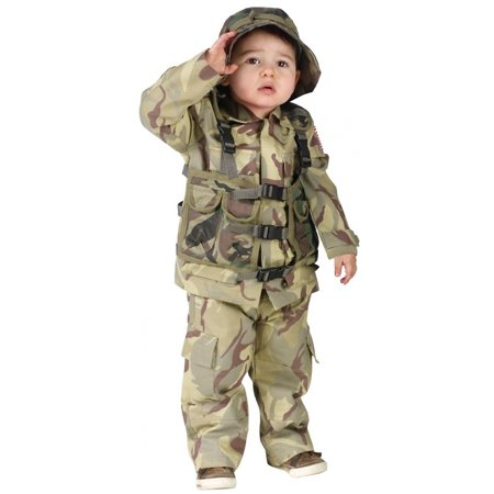 Authentic Delta Force Toddler Costume - Toddler Large