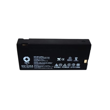 SPS Brand  12V 2Ah Replacement for  Olympus VX-407 (Camcorder Battery) ( 1 PACK)