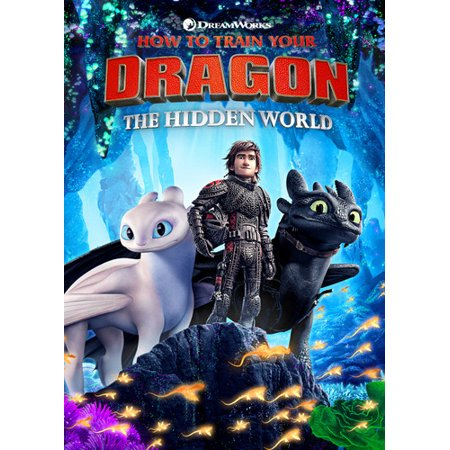 - How to Train Your Dragon: The Hidden World (DVD + Digital Copy)