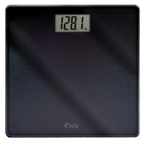 Conair WW58B Inspirational Glass Digital Scale Black
