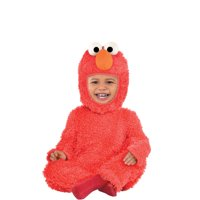 Suit Yourself Sesame Street Elmo Costume for Babies, Includes a Soft Jumpsuit, Hand Covers, and Hood