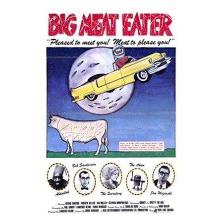 Meat Eater Mask (Posterazzi MOV193458 Big Meat Eater Movie Poster - 11 x 17)