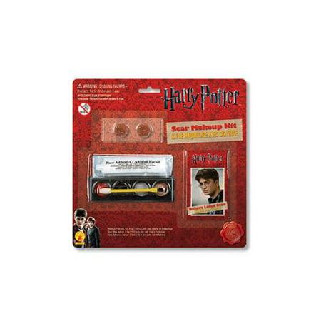 Halloween Makeup Scars (Harry Potter Scar Makeup Kit Child Costume)