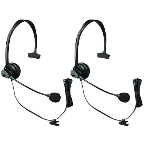 Panasonic KX-TCA60 - 2 Pack For ATT phones Over The Head Headset
