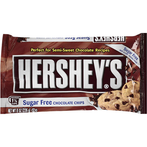 Hershey's Sugar Free Chocolate Chips, 8 oz