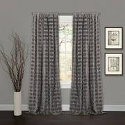 Emma Grey Window Curtain
