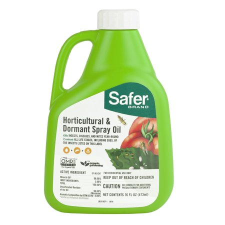 Safer Brand Horticultural & Dormant Spray Oil Concentrate
