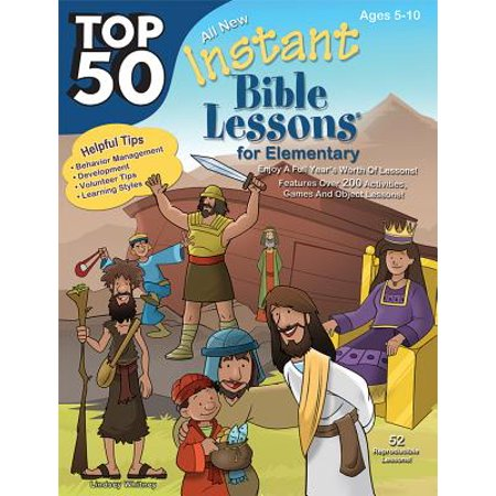 Top 50 Instant Bible Lessons for Elementary with Object Lessons (Halloween Lesson Esl Elementary)