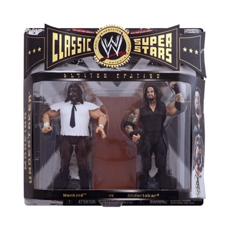 WWE CLASSIC SUPERSTARS MANKIND AND UNDERTAKER ACTION FIGURE Wwe Classic Superstars