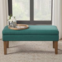 HomePop Decorative Storage Bench, Multiple Colors
