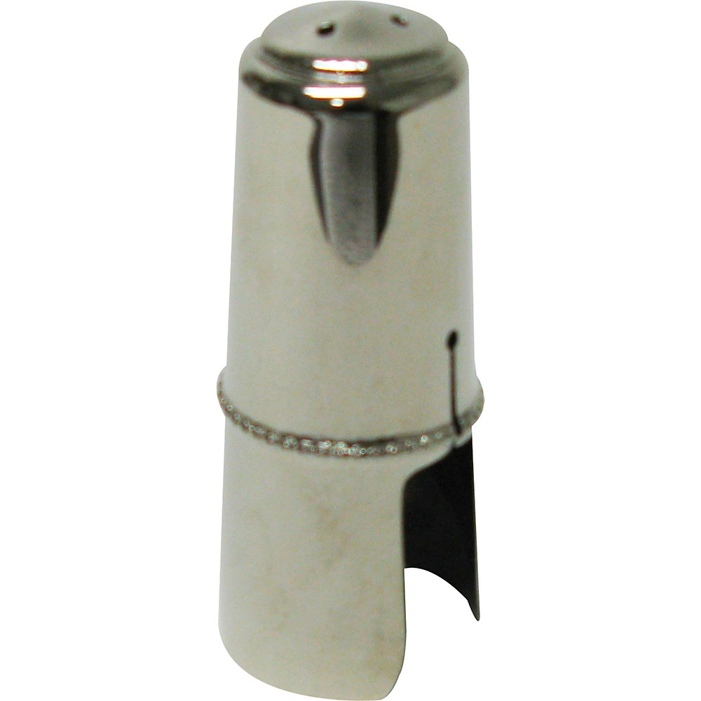 Bonade Alto Saxophone Mouthpiece Cap Nickel Cap Regular by Bonade