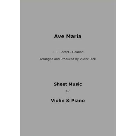 Ave Maria - J.S. Bach / C. Gounod - eBook