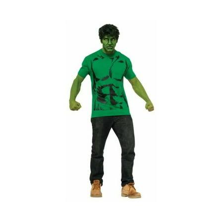 Marvel Incredible Hulk T?shirt and Mask Costume Kit