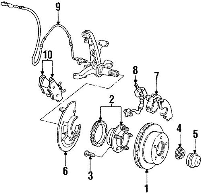 Ford F8az 2c204 Ab Sensor Assembly