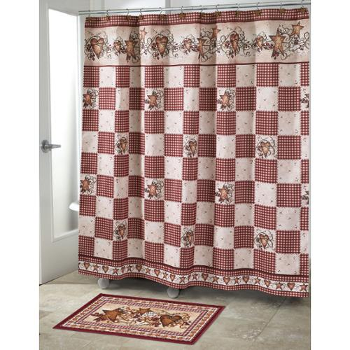 Avanti Hearts & Stars Shower Curtain