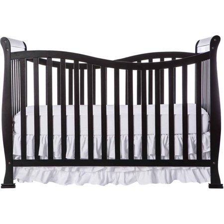 Dream On Me Violet 7 In 1 Convertible Crib Black