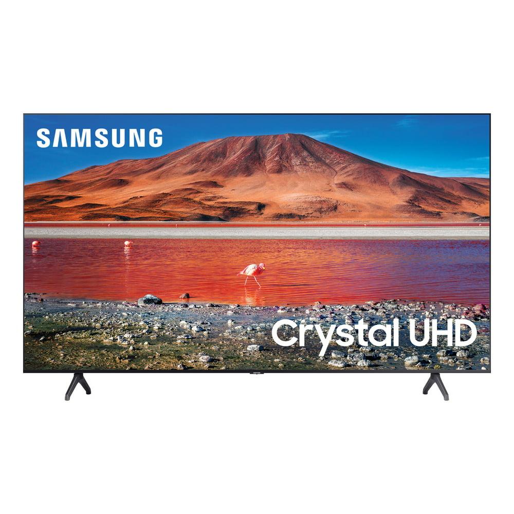 "SAMSUNG 70"" Class 4K Crystal UHD (2160P) LED Smart TV with HDR UN70TU7000 2020"