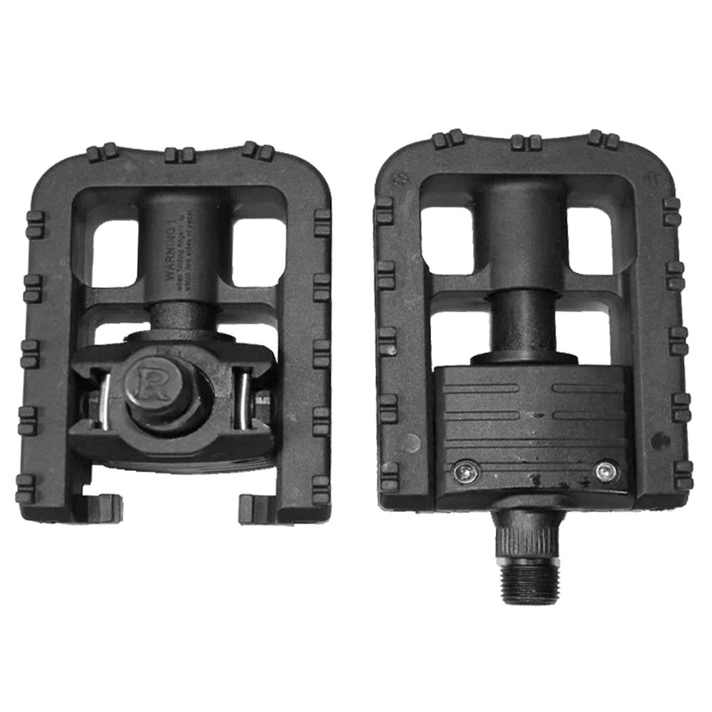Daciye 1 Pair Bicycle Cycling Foldable Pedals Foot Pegs Mountain Road Bike Pedals - Walmart.com
