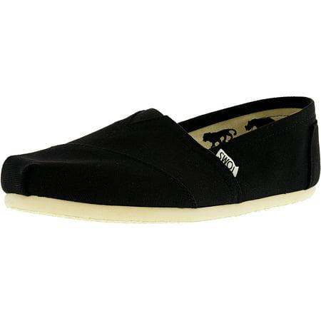 Toms Men's Classic Canvas Black Ankle-High Flat Shoe - 9M