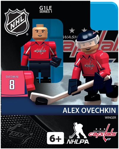 NHL Generation 1 Series 1 Alex Ovechkin Minifigure by