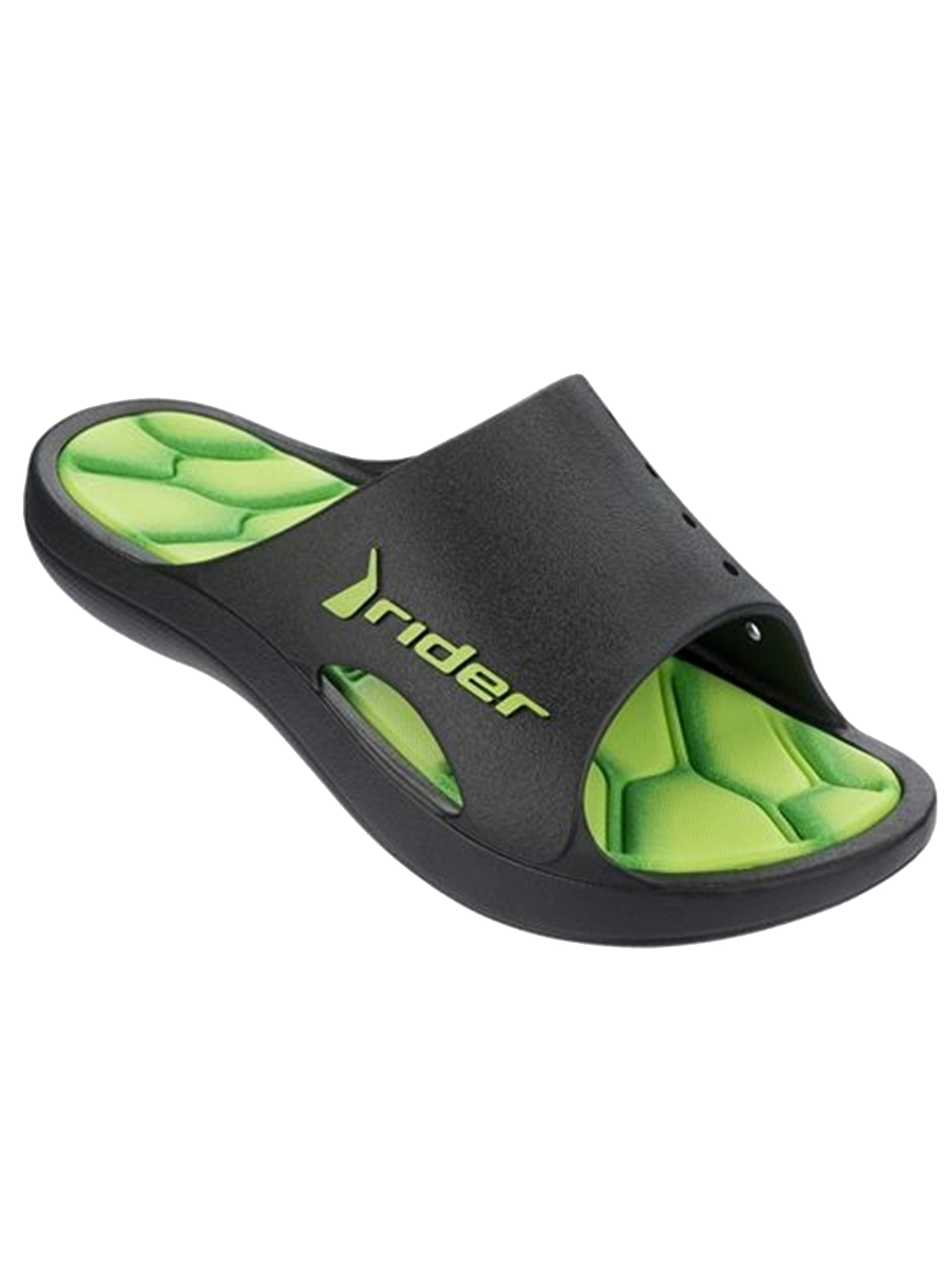 Rider Kids Bay 4 Slide Sandal (Green;Kids Size 1)
