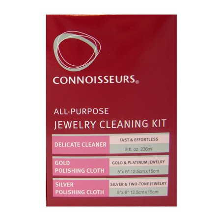 Connoisseurs all purpose jewelry cleaning kit for Jewelry cleaning kit target