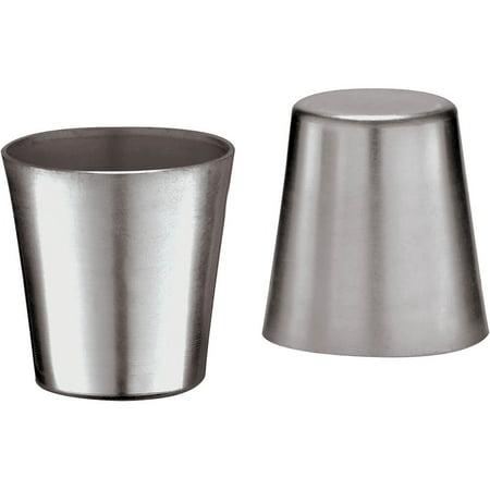 Paderno World Cuisine Aluminum Dariole / Baba Mold, 0.03 Qt, 10PK, 47066-03 (Dariole Mold)