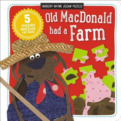 Nursery Rhyme Jigsaw Puzzle: Old MacDonald Had a Farm