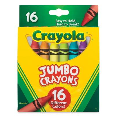 Premium Quality Jumbo Crayon - Crayola Jumbo Crayons - Set of 16