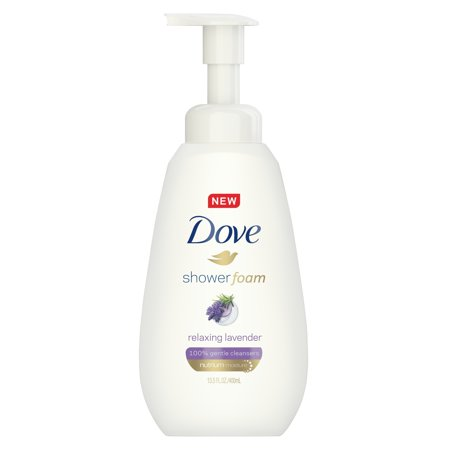 Dove Purely Pampering Shower Foam Relaxing Lavender 13.5 oz ()