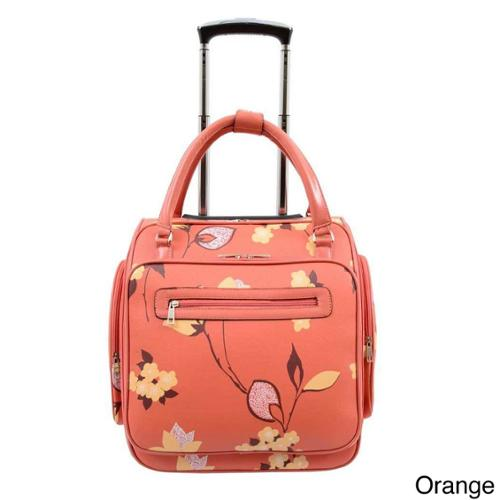 Mellow World Chloe 17 Inch Vegan Leather Carry On Rolling
