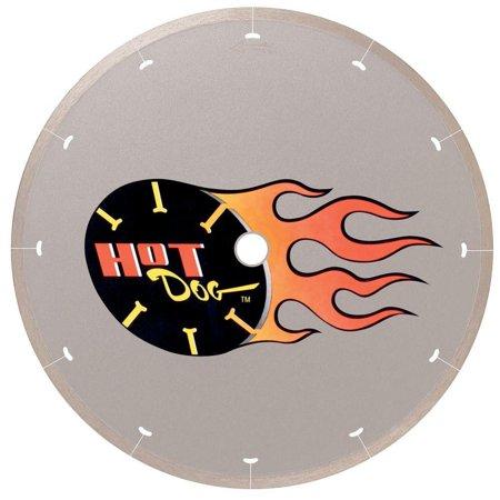 - MK Diamond 158434 HotDog 7 in. Continuous Rim Wet Cutting Diamond Blade