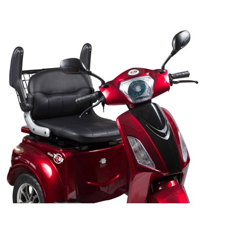 T4B LU-500W Mobility Electric Recreational Outdoors Scooter 48V20AH with Three Speeds, 14/22/32kmph - Red - image 4 de 14