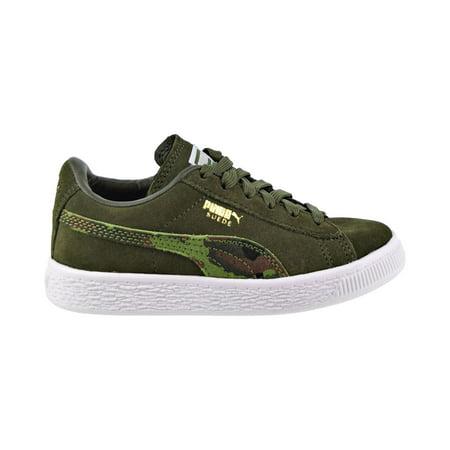 Puma Suede Classic Ambush FS PS Little Kids' Shoes Dachsund/Garden Green 370614-01