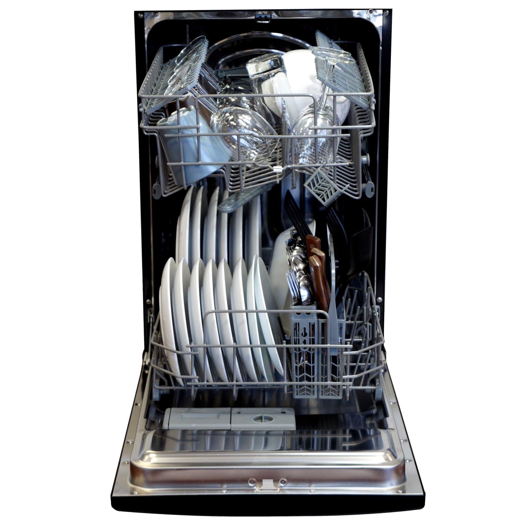 Sunpentown Energy Star 18 Built In Dishwasher Walmartcom
