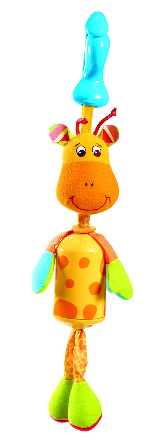 Smarts Wind Chime Clip on Toy, Ba Giraffe..., By Tiny Love Ship from US by