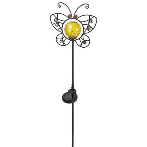 Paradise Garden Lighting Garden Light with Ornamental Metal and Glass Beads