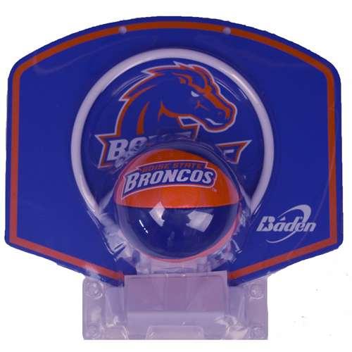 Boise State Broncos Mini Basketball And Hoop Set