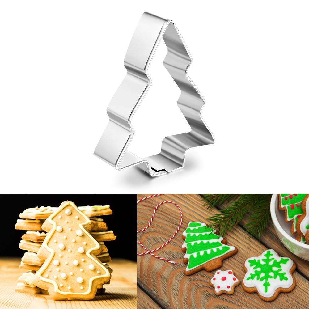 Stainless Steel Vegetable Cookie Cutters Tools Fondant Biscuit Pastry Cakes Mold