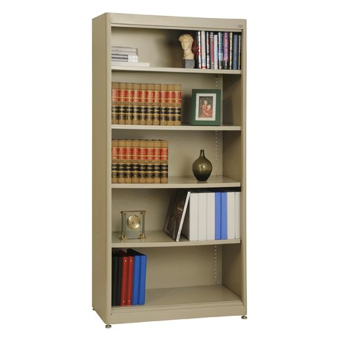Sandusky Cabinets Elite Radius Edge Stationary Standard Bookcase