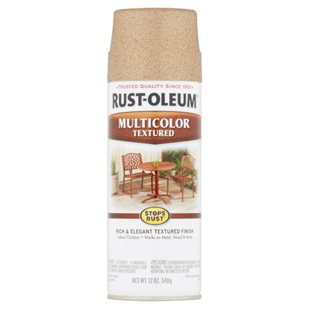 (3 Pack) Rust-Oleum Stops Rust Multicolor Textured Radiant Brass Spray Paint, 12 oz