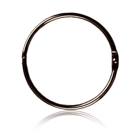 Better Homes & Gardens Metal Shower Curtain O-Rings, 12 Count