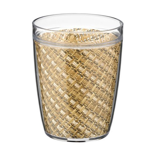 Kraftware Woven 14 oz. Double Wall Insulated Drinkware - Set of 4