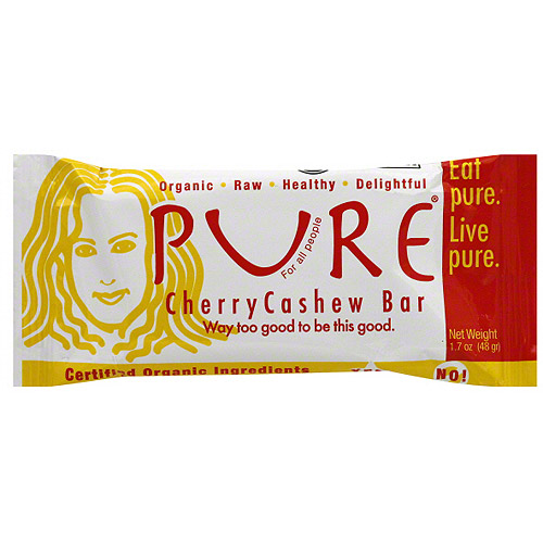 Pure Cherry Cashew Fruit & Nut Bar, 1.7 oz (Pack of 12)