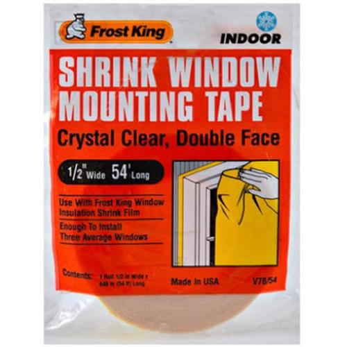 Thermwell V78/54H Indoor Insulation Mounting Tape, .5-In. x 54-Ft.