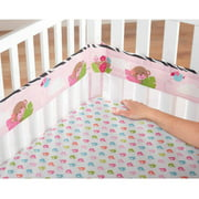 Garanimals Wild Life Fresh Air Crib Liner